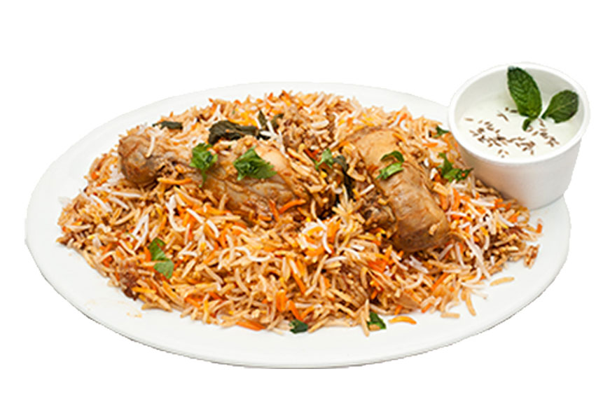 b and b express chicken biryani